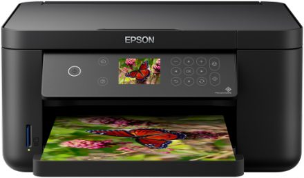 Epson XP-5105 Multifunction Printer, 6.1cm LCD Screen, Mobile & Cloud Printing